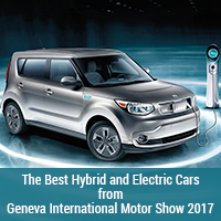 The Best Hybrid and Electric Cars from Geneva International Motor Show 2017