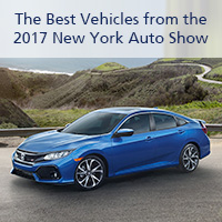The Best Vehicles from the 2017 New York Auto Show