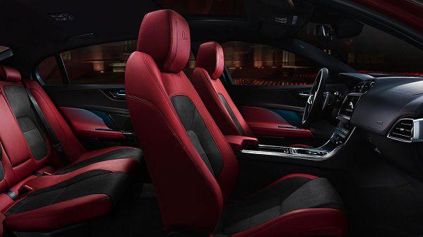 Interior of 2017 Jaguar XE