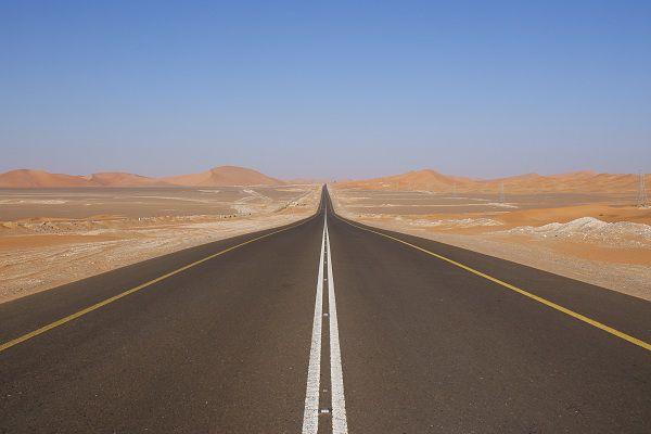 Long Road Trip in the UAE