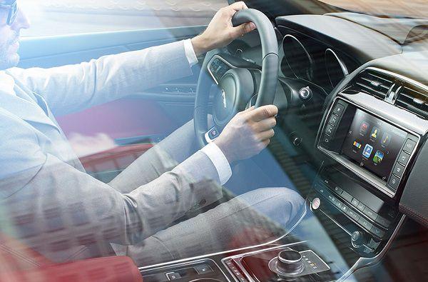 Technology in 2017 Jaguar XE