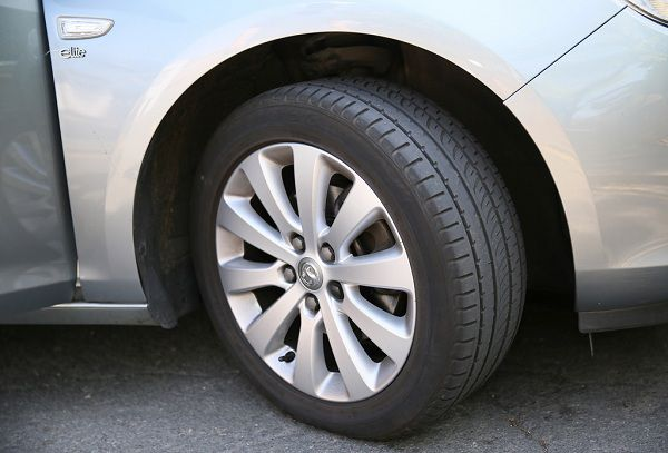 Tyre Condition of the Vehicle