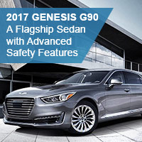 2017 Genesis G90 – A Flagship Sedan with Advanced Safety Features