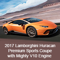 2017 Lamborghini Huracan – Premium Sports Coupe with Mighty V10 Engine
