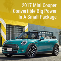 2017 Mini Cooper Convertible - Big Power in A Small Package