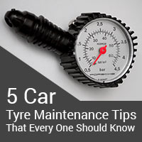 5 Car Tyre Maintenance Tips That Every One Should Know