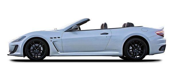 Exterior of 2017 Maserati GranTurismo