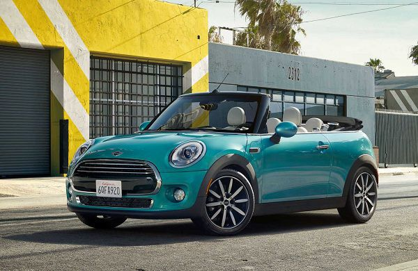 Exterior of 2017 Mini Cooper Convertible