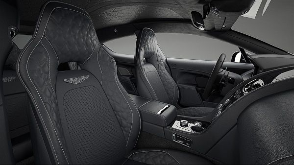 Interior of 2017 Aston Martin Rapide