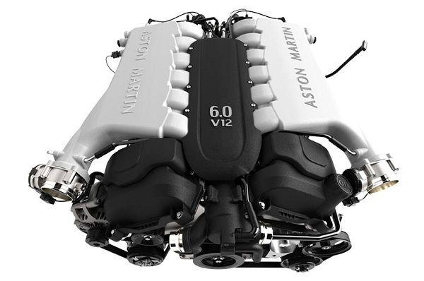 Powertrain of 2017 Aston Martin Rapide