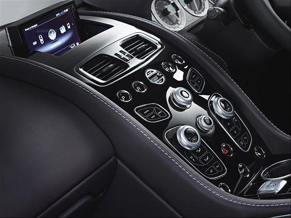 Technology of 2017 Aston Martin Rapide