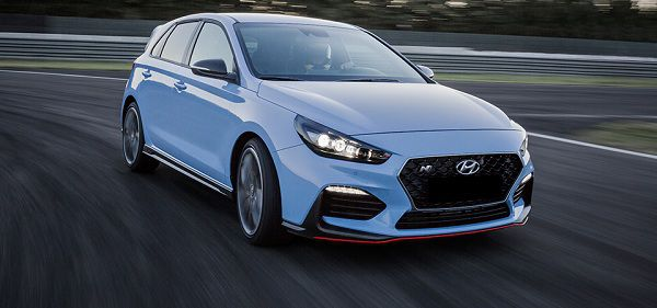 Design of the 2018 Hyundai i30 N
