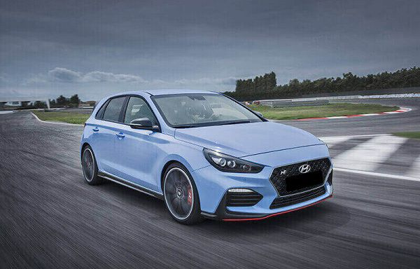 Performance of 2018 Hyundai i30 N