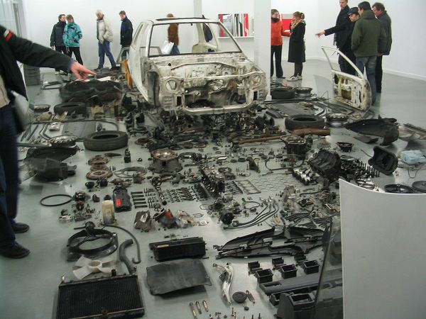 Sell Your Car for Cash in Bits and Pieces