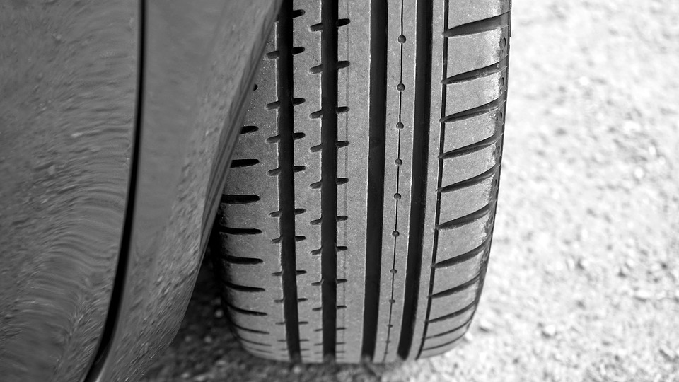check the tyre treads