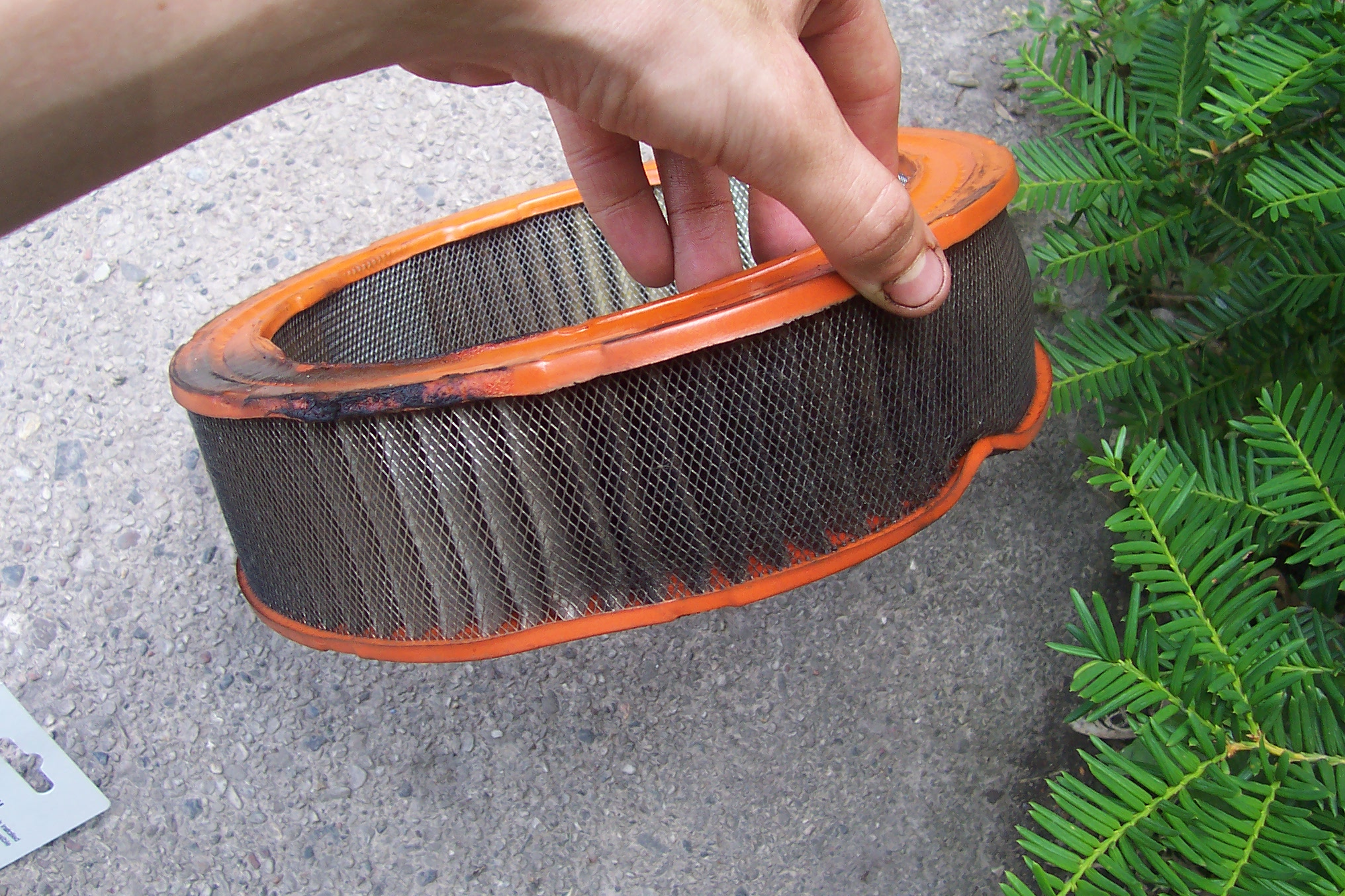 Clogged and Dirty Air Filters