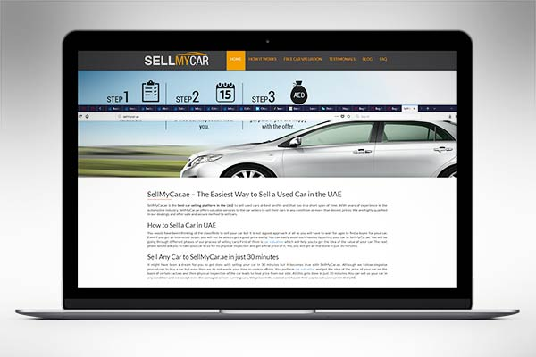 Sell Your Car to SellMyCar.ae